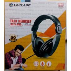 lapcare talk head set with mic